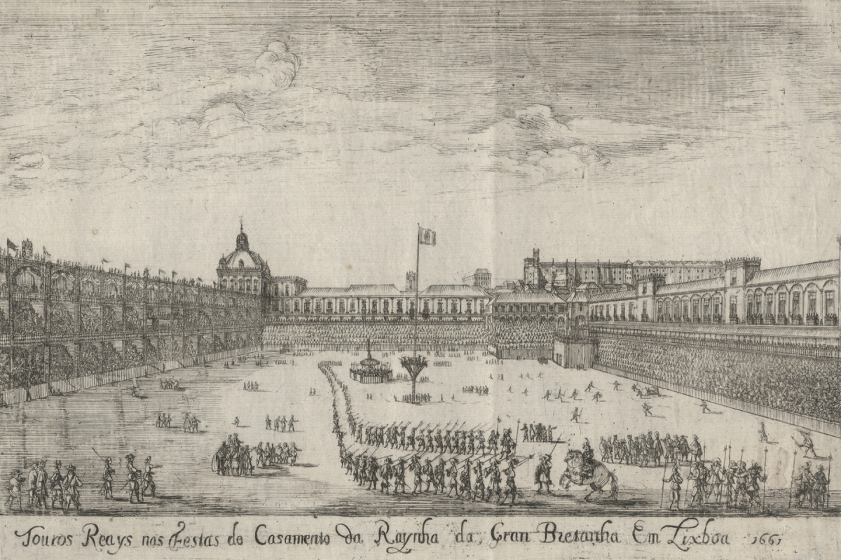 TOURADA NO TERREIRO DO PAÇO 1661