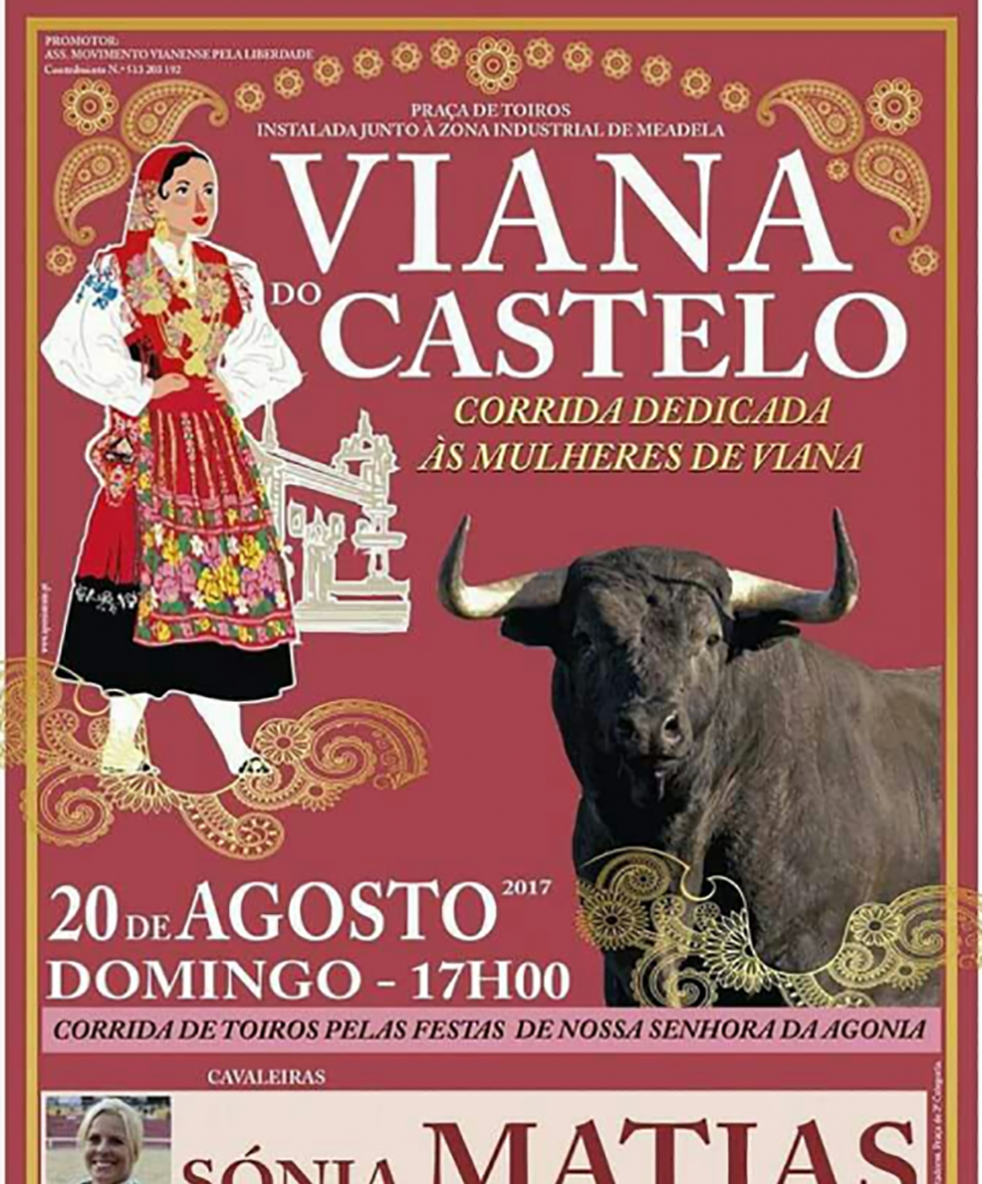 TOURADA VIANA DO CASTELO 2017